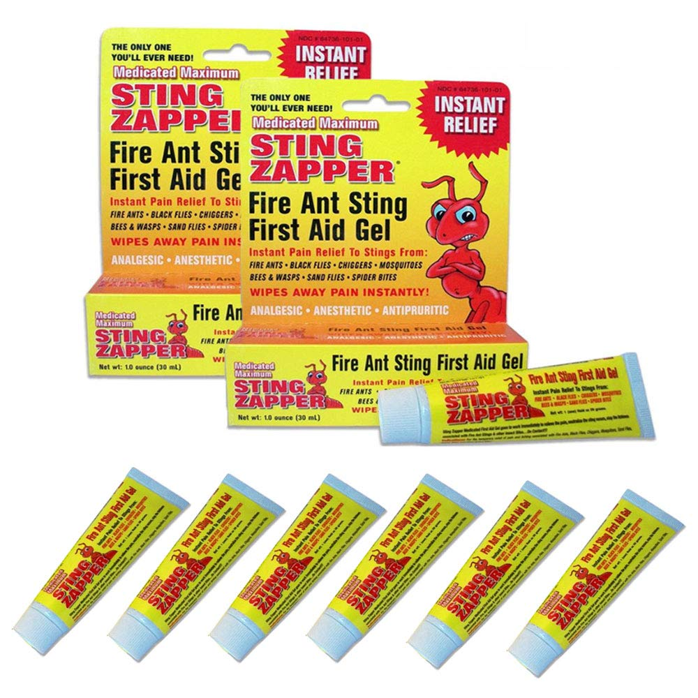 6 Fire Ant Bite Treatment Sting Zapper Gel Cream Bee Bed Bugs Mosquito First Aid by AllTopBargains