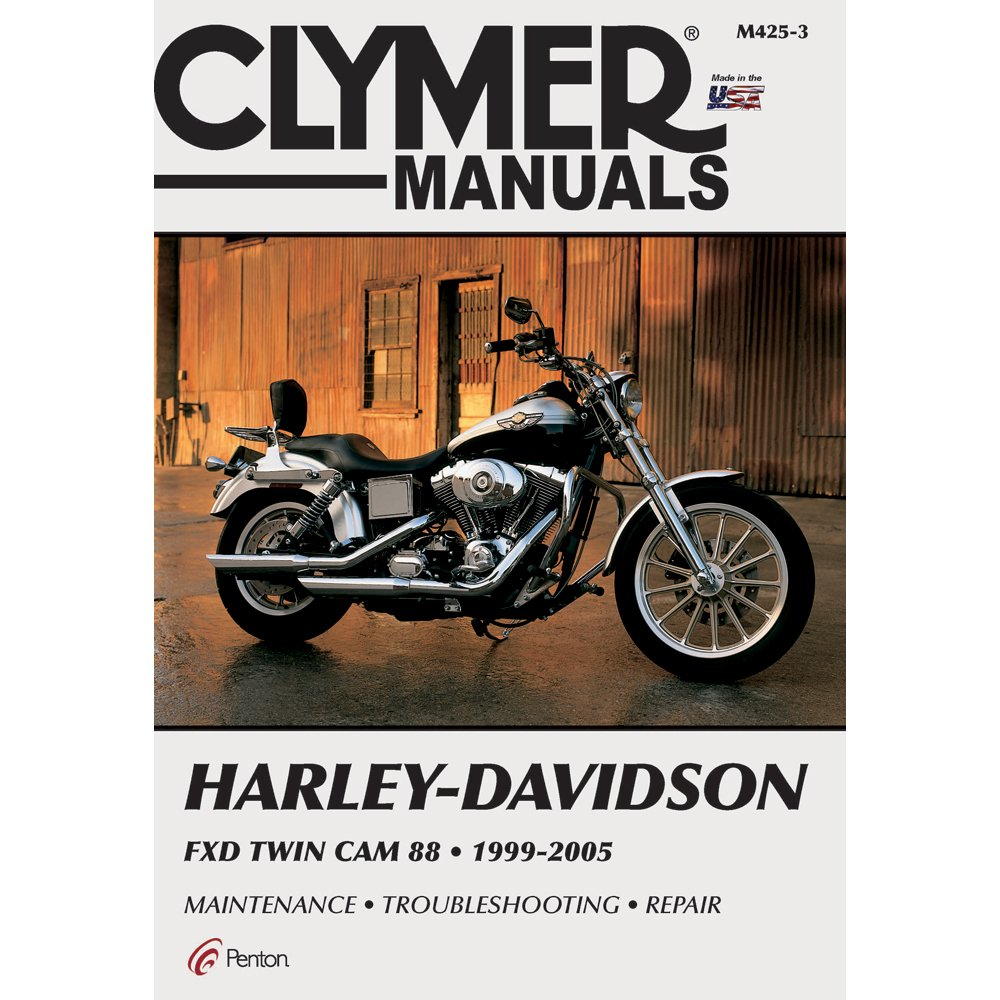 71H9DNUEELL._SL1000_ amazon com clymer repair manual for harley dyna fxd twin cam 88 Harley Coil Wiring Diagram at crackthecode.co