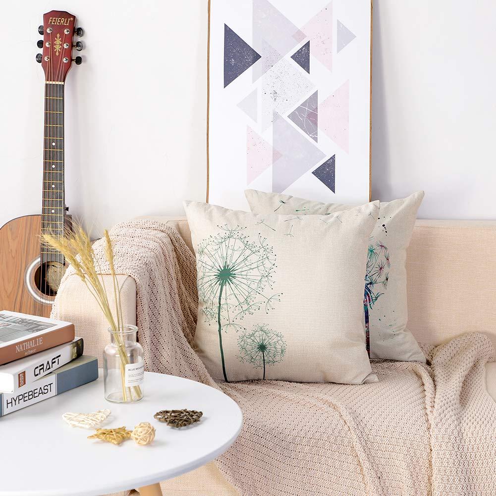 Amazon.com: Artscope - Juego de 2 fundas de almohada para ...
