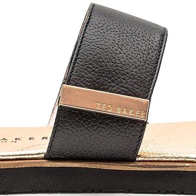 7db9222f8 Ted Baker Womens Black Maiwen Sandals  Amazon.co.uk  Shoes   Bags