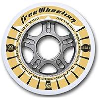 FreeWheeling 4-Pack Ruedas para Patines en línea Race