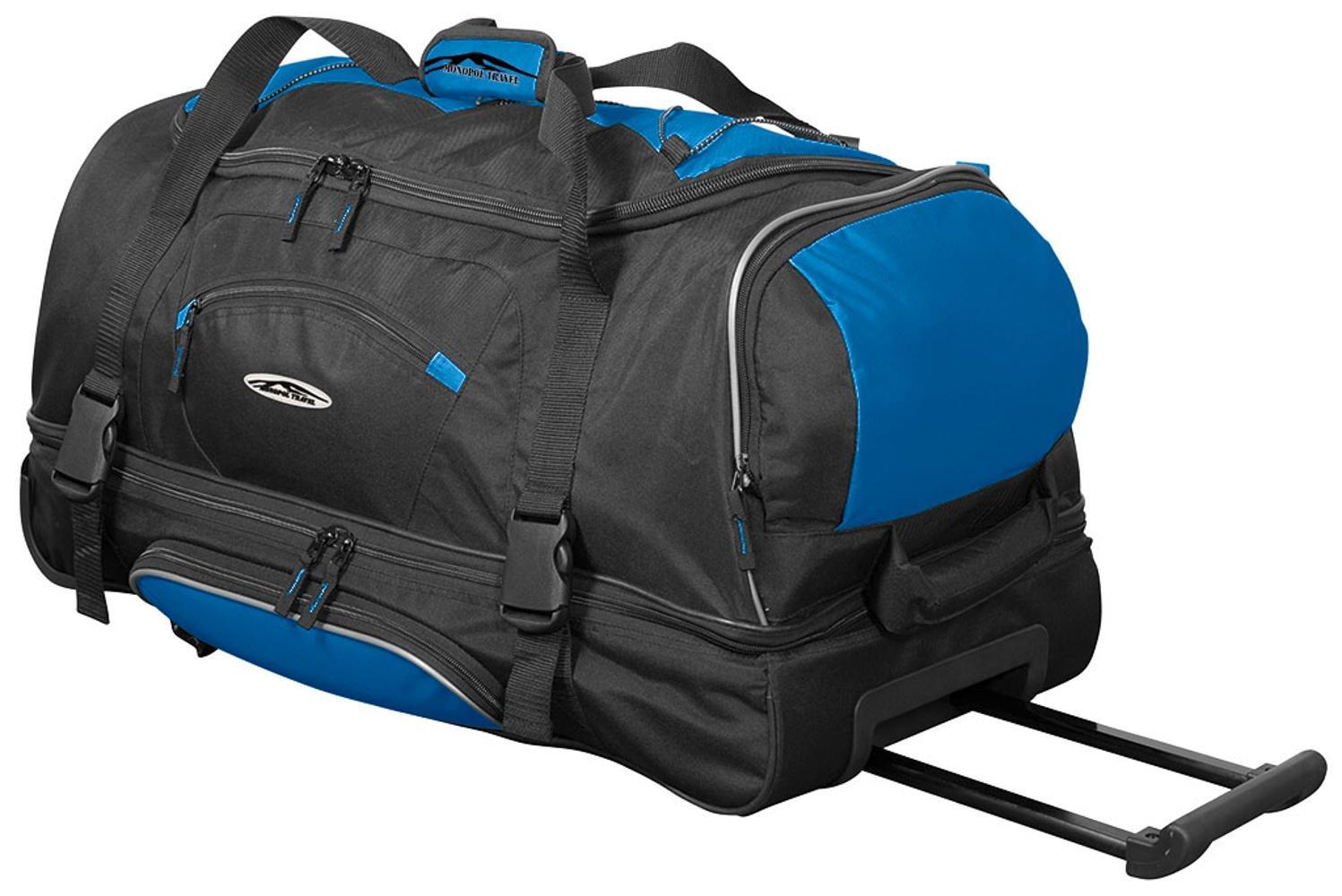 Benzi wheelbag sac de voyage à roulettes trolley noir/rouge-taille xL fdfHf0L