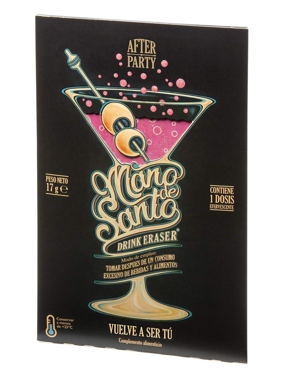 Drink Eraser Mano de Santo - Expositor con 15 dosis efervescentes: Amazon.es: Salud y cuidado personal