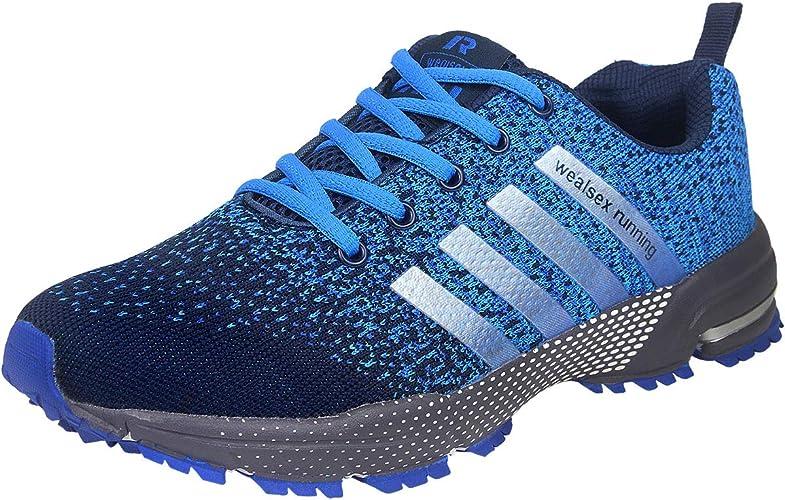 Wealsex Zapatos para Correr En Montaña Asfalto Aire Libre ...