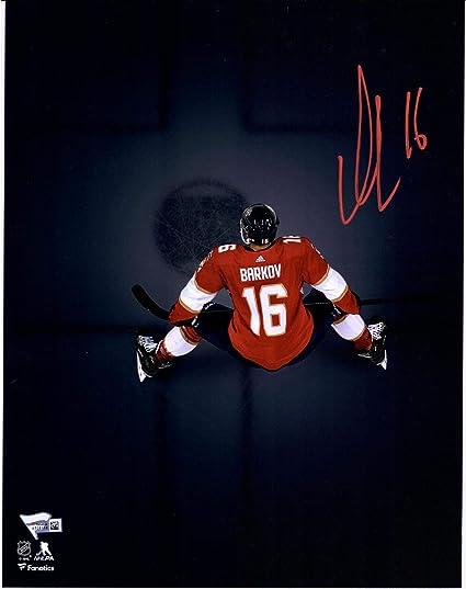 Aleksander Barkov Florida Panthers Autographed 11 quot  x 14 quot  Overhead  Spotlight Photograph -  16 c27790000