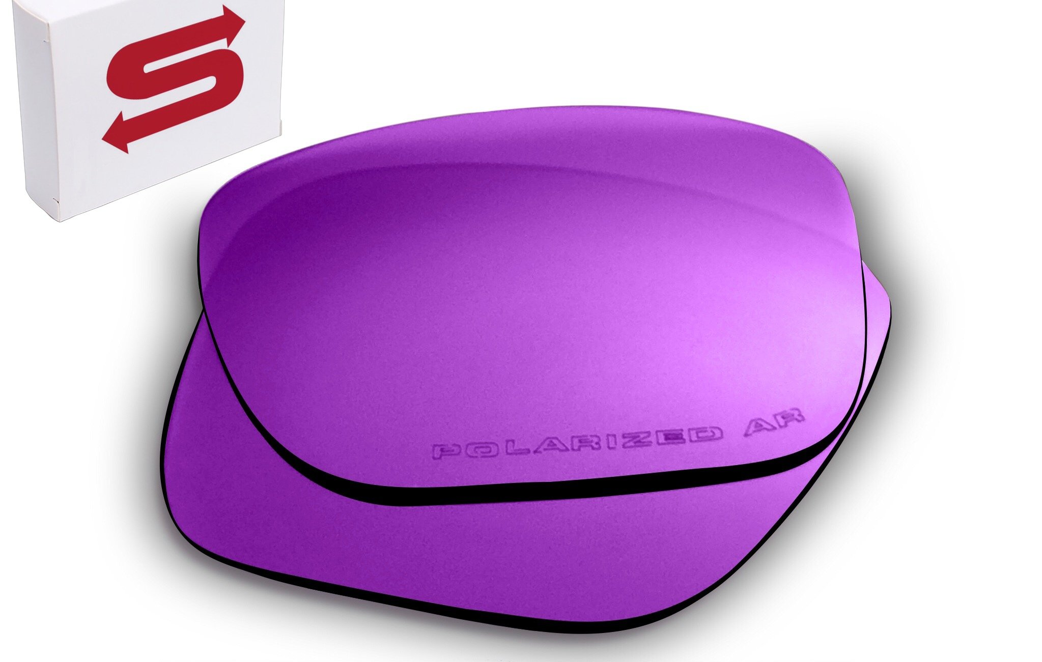 PURPLE Oakley Holbrook Lenses POLARIZED by Lens Swap. GREAT QUALITY & FITS PERFECTLY. Oakley Holbrook Replacement Lenses.