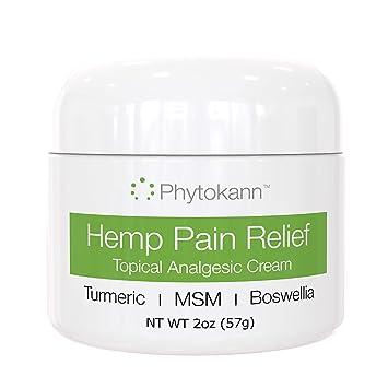 Amazon.com: Crema de cáñamo puro con alivio del dolor tópico ...