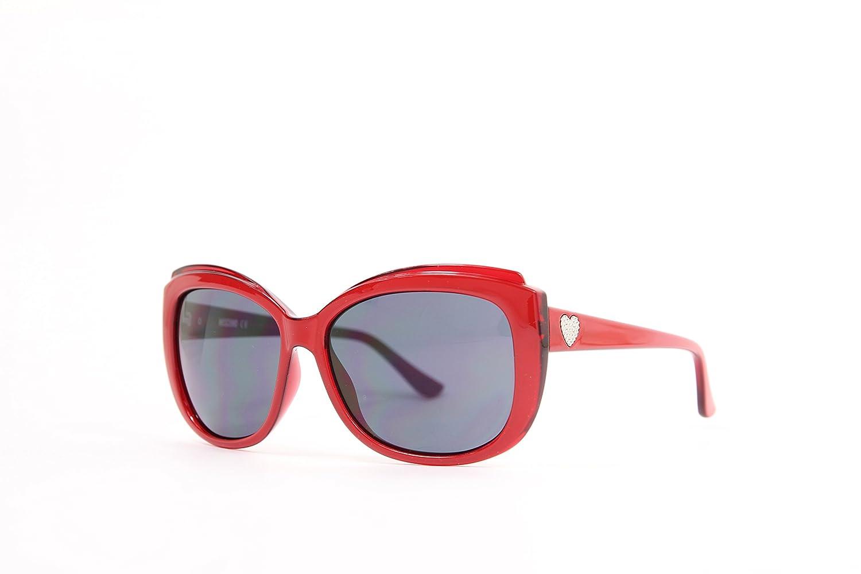 MOSCHINO Women' s MO-71603-S Sunglasses, Red, 59 MO-71603-S_RED