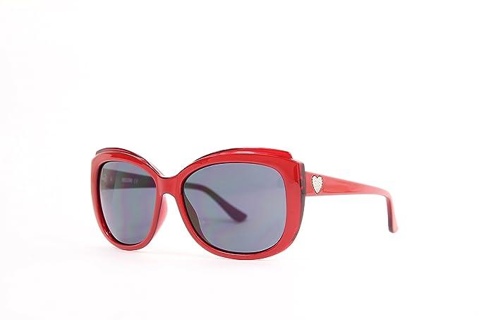 Moschino MO-71603-S Gafas de sol, Deportivas, 59, Red ...