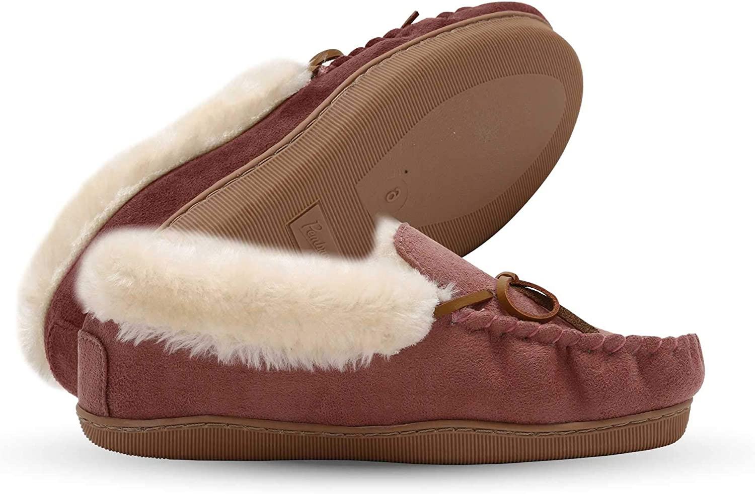Pembrook Ladies Moccasin Slippers