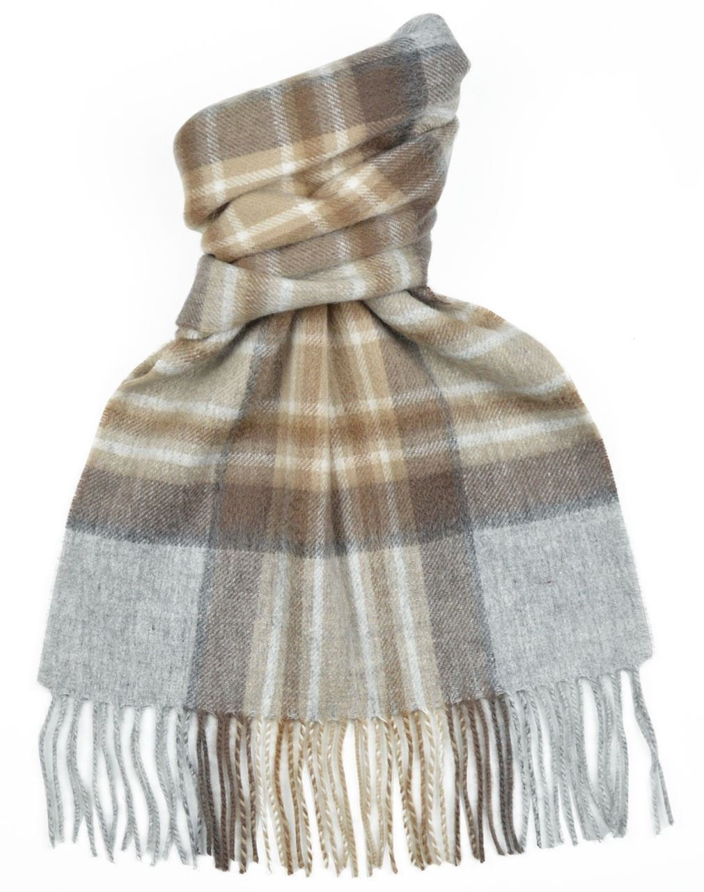 Lambswool Scottish Clan Scarf Mackellar Modern Tartan
