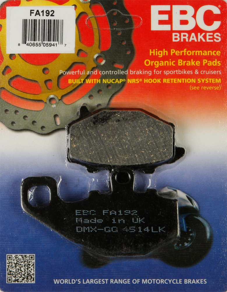 Kawasaki Rear Brake ZX6R (ZX 636 C) 636cc 2005-2006 Street Motorcycle / Sportbike / Cruiser Part# 15-192