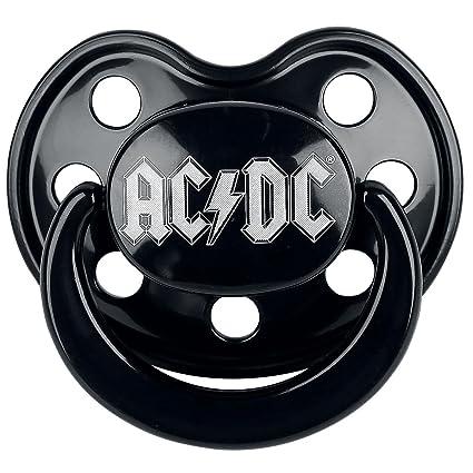 Chupete Bebé 0 - 6 meses Metal Rock and Roll AC/DC Chupete ...