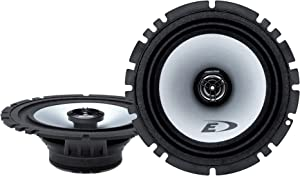 "Alpine SXE-1725S 80W 6.5"" 2-Way Type-E Coaxial Speakers W/ Mylar-Titanium Tweeters,black"