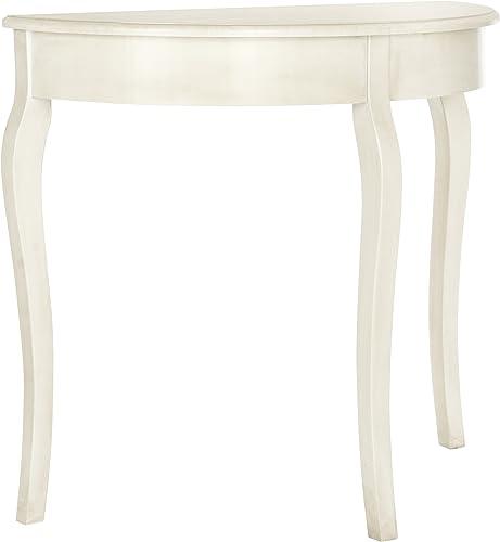 Safavieh American Homes Collection Sema Console Table, Antique White