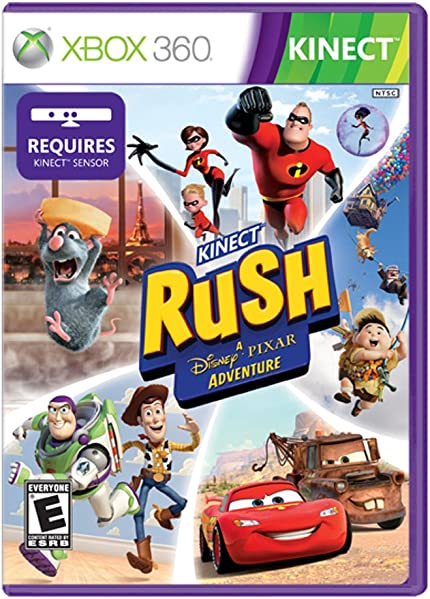 Kinect Rush: A Disney Pixar Adventure   Xbox 360 by By          Microsoft