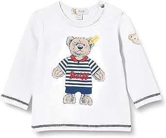 Steiff Baby Mit S/ü/ßer teddyb/ärapplikation Sweatshirt GOTS