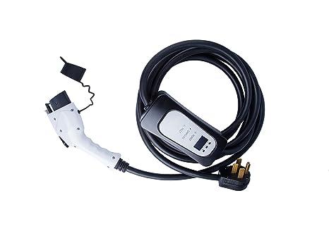 Amazon.com: Jekayla Cargador de vehículo eléctrico, Blanco ...