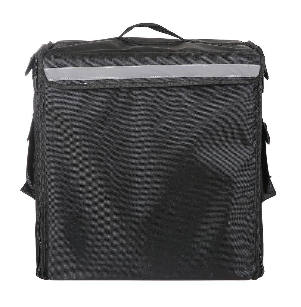 "Food Delivery Backpack, Professional Food Delivery Bag,17.5""L×10.5""W×18.5""H(Black)"
