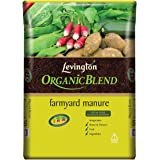 4 BAGS Multibuy OFFER - Levington Organic Blend Farmyard Manure 50L