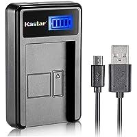 Kastar LCD Slim USB Charger for Fujifilm NP-W126, BC-W126 and FinePix HS30EXR, FinePix HS33EXR, FinePix HS50EXR, FinePix X-A1, FinePix X-E1, X-E2, FinePix X-M1, FinePix X-Pro1, X-Pro2, FinePix X-T1