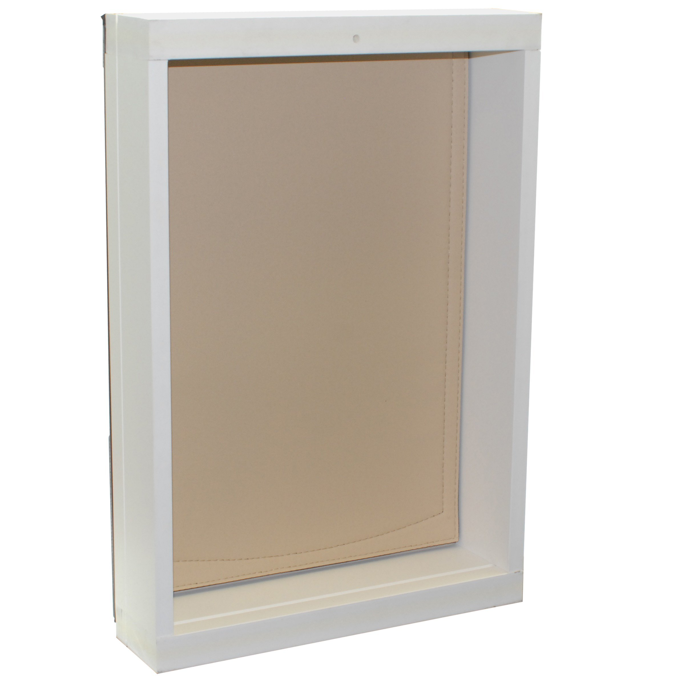 Freedom Pet Pass Wall-Mounted Energy-Efficient, Extreme Weather Dog Door with Insulated Flap - L