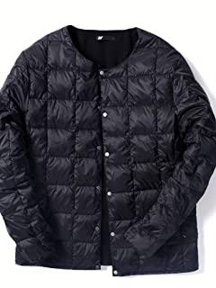 Jet Blue Reversible Crew Neck Button Down Jacket 124-98-0001: Black