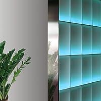 Perfil Fin de 8 cm bloques de vidrio