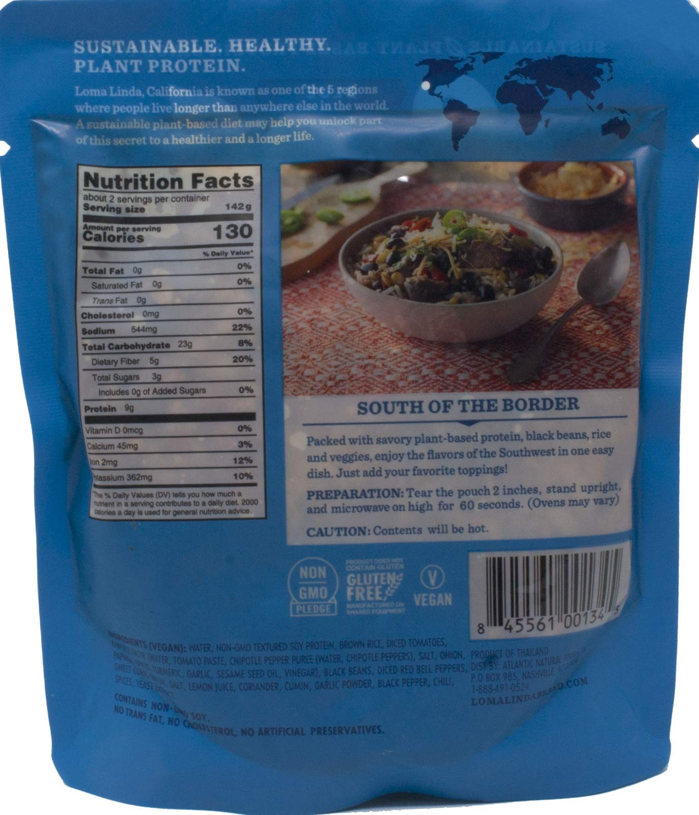 Loma Linda Heat & Eat Gluten Free Vegan Meal 3 Flavor Variety Bundle, (1) each: Spicy Pad Thai, Chipotle Bowl, Southwest Chunky Stew (10 Ounces) by Loma Linda (Image #3)