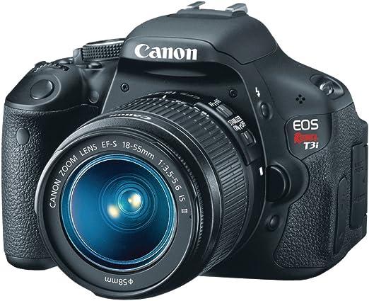 Canon Rebel T3i - Cámara Réflex Digital 18 MP: Amazon.es: Electrónica