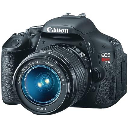 amazon com canon eos rebel t3i digital slr camera with ef s 18 rh amazon com Canon Rebel T3 Accessories Canon Rebel T3 Settings Guide