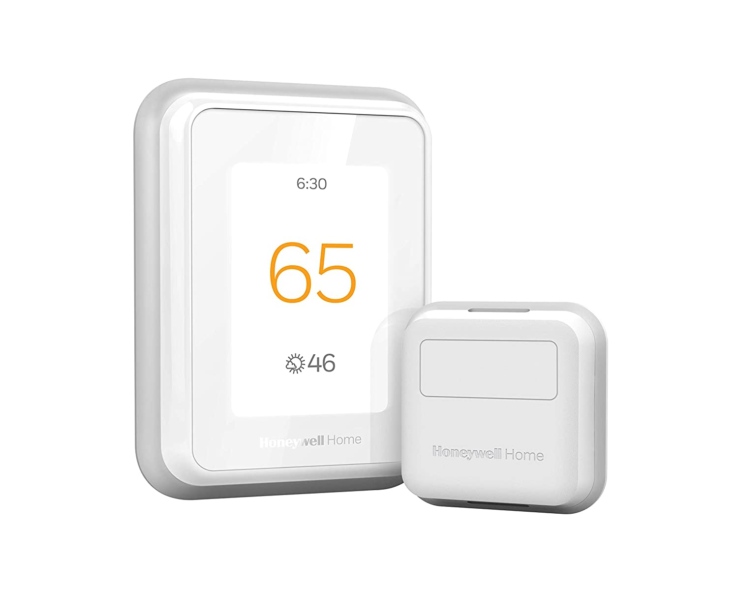 Honeywell Home T9 WIFI Smart Thermostat with 1 Smart Room Sensor, Touchscreen Display, Alexa and Google Assist