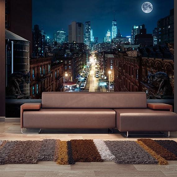 murando Fotomurales 300x210 cm XXL Papel pintado tejido no tejido Decoración de Pared decorativos Murales moderna de Diseno Fotográfico ciudad NY NYC ...