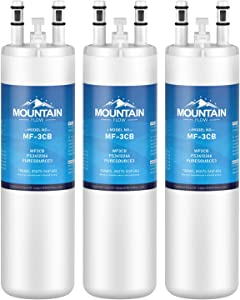 WF3CB Compatible Refrigerator Water Filter Replacement Pure Source 3, white, 3packs