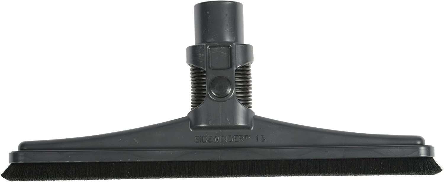 Cen-Tec Systems 65852 Sidewinder Hard Floor Vacuum Tool with Synthetic Fill and 1.5-Inch Neck, 18-Inch