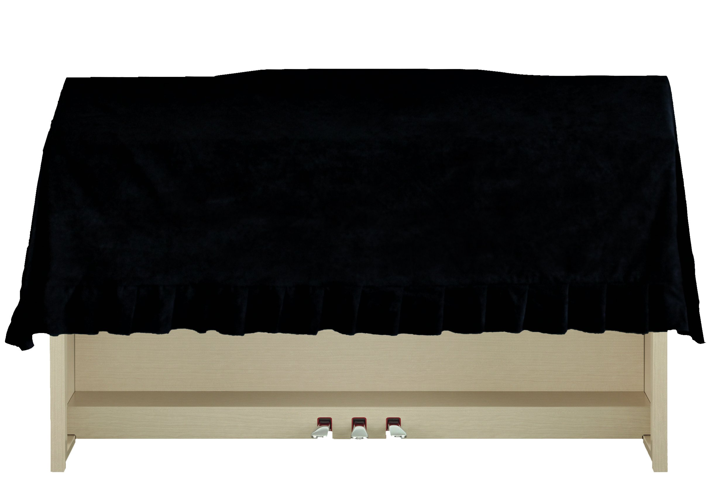 Clairevoire Clavinova Digital Piano Dust Cover | Highly water-resistant | Handcrafted with luxury-grade Premium Velvet | Fits Yamaha Clavinova CVP CLP series (57.8 in [ 147cm ])