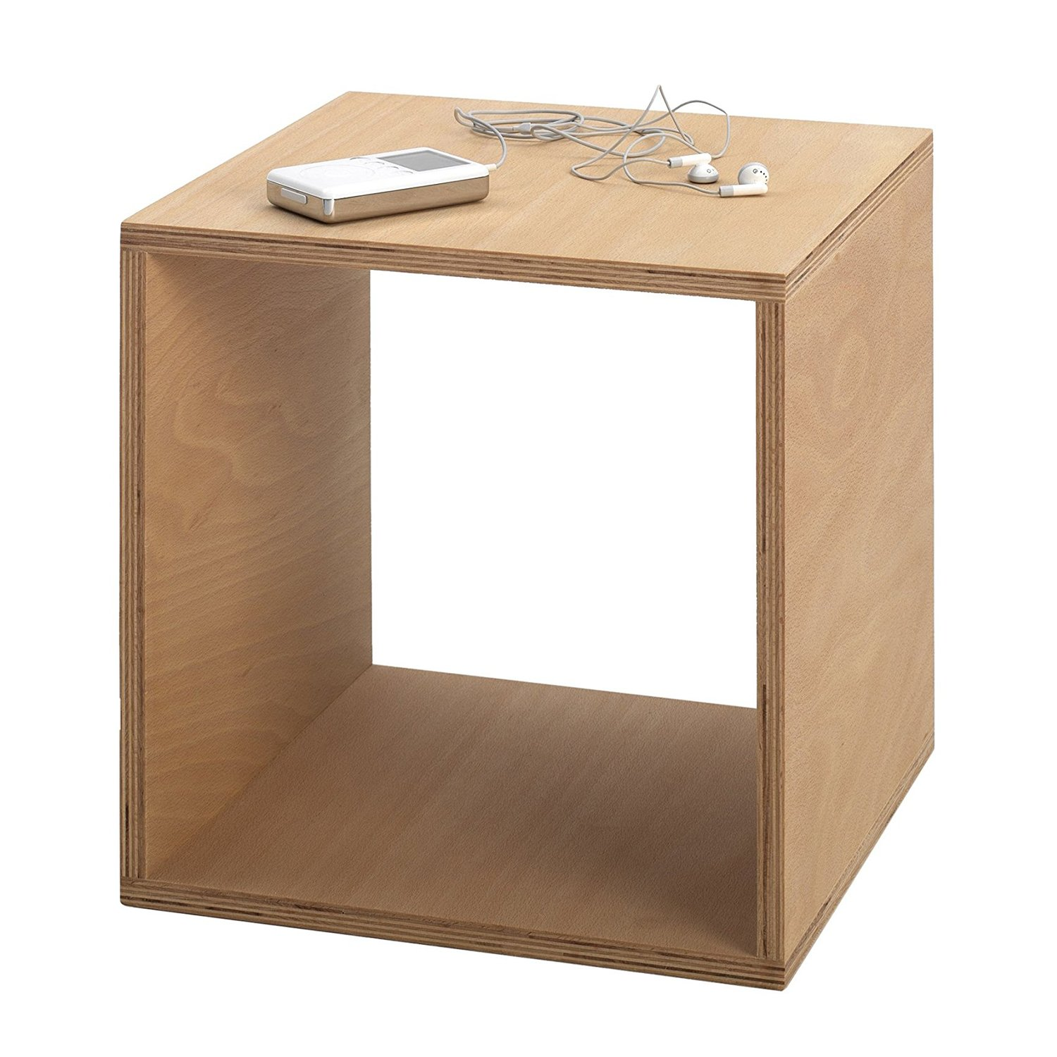 TOJO Cube Bedside Table, 35 by 35 by 35cm