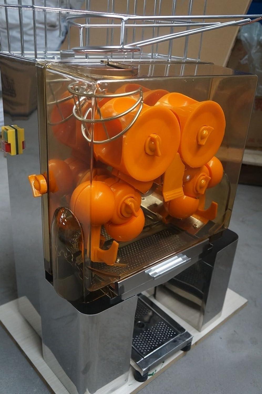 Commercial Auto Feed Orange Juicer Juice Machine Vat Included Uk