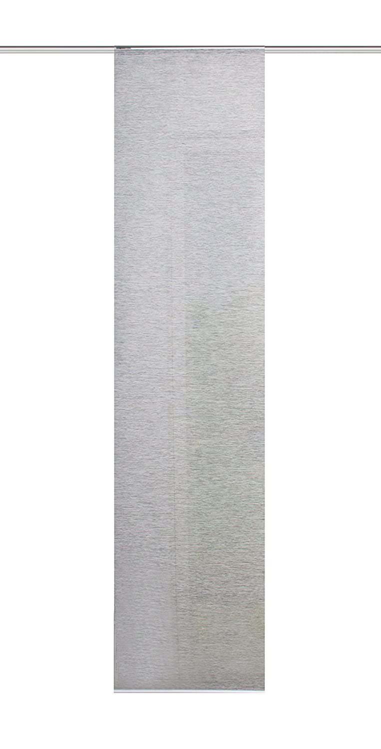 'Home Fashion 86603 Grey H: 180 cm x W: 40 cm Sliding Panel Bamboo Look