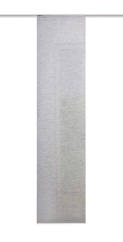 'Home Fashion 86603Grey H: 180cm x W: 40cm Sliding Panel Bamboo Look