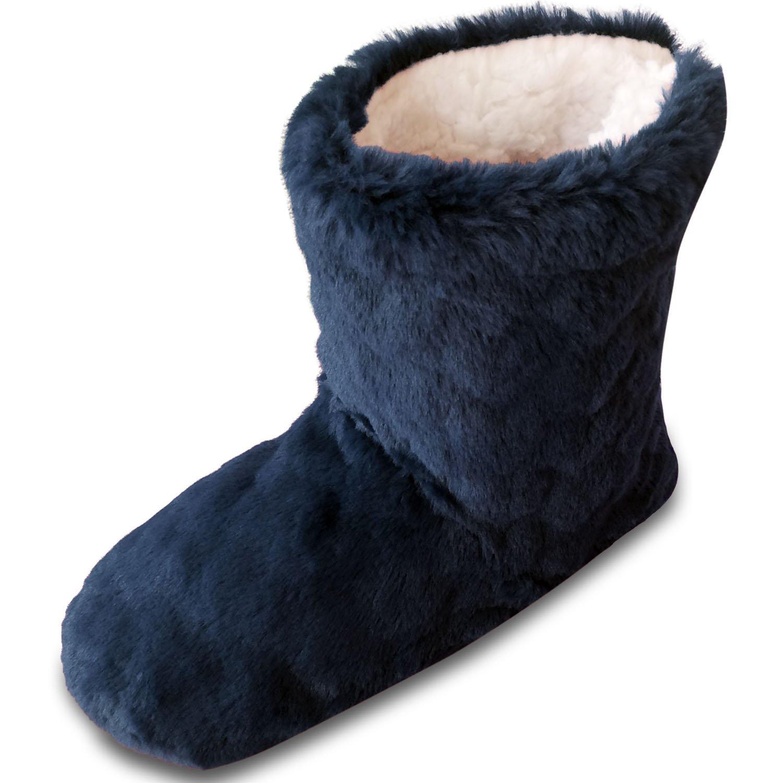 TOESTERS Femmes Femmes féminines Bottes de Bottes coupées à l'hiver avec Motifs imprimés estampés avec Doublure en Polaire Confortable
