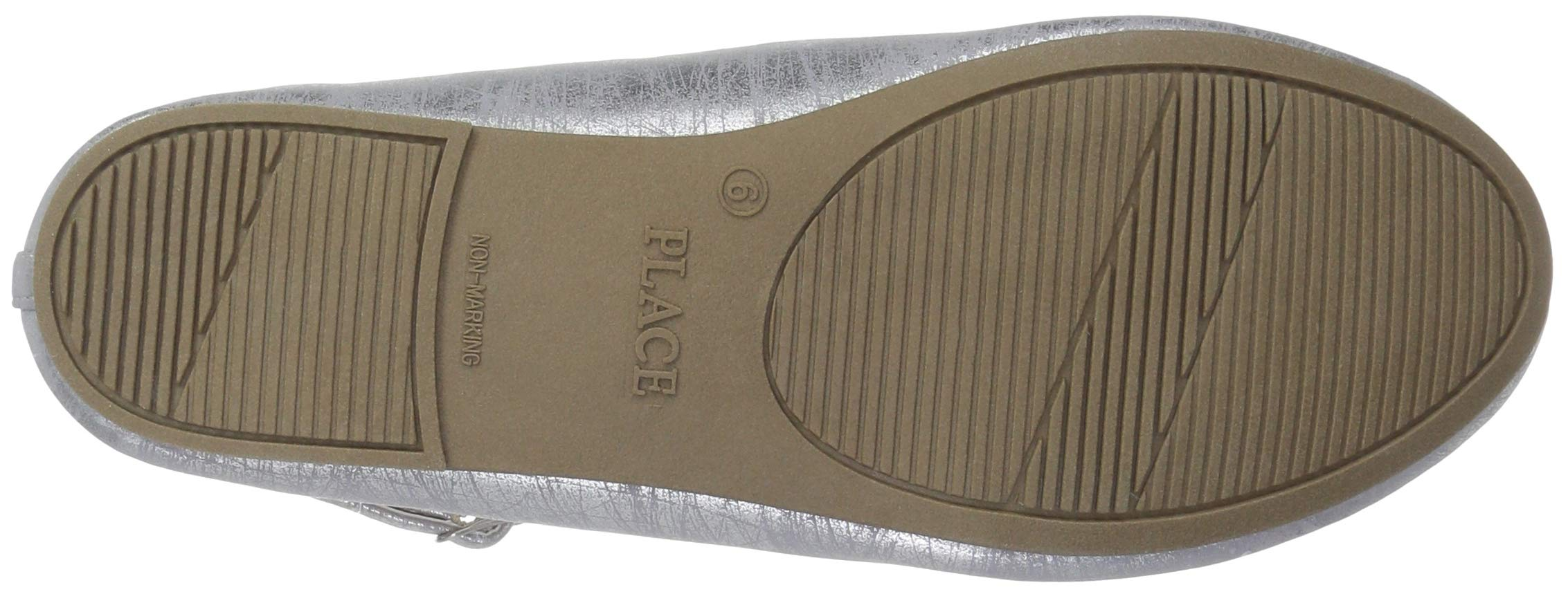 The Children's Place Girls' T-Strap Ballet Flats, Light Lavender, Youth 3 Child US Little Kid by The Children's Place (Image #3)