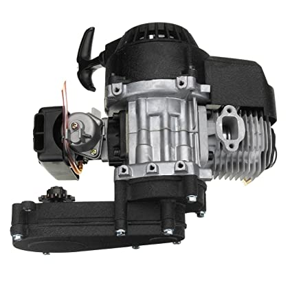 Engine And Transmission World >> Amazon Com Rishil World 49cc Engine 2 Stroke Pull Start With