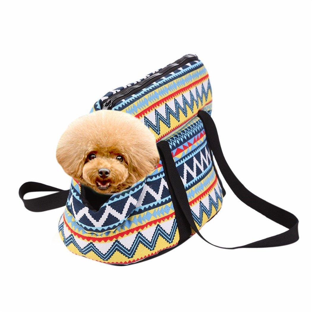 Legendog Dog Shoulder Bag, Dog Handbag Carrier Portable Vintage Dog Tote Bag Pet Carrier for Outdoor L