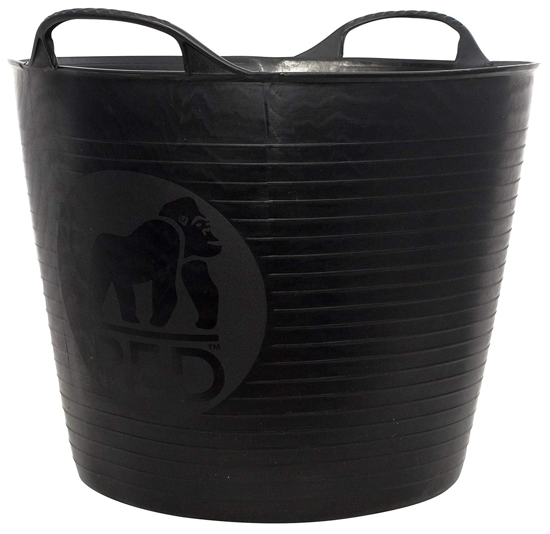 Tubtrugs SP26GBK Flexible Black Gorilla Medium 26 Liter/6.9 Gallon Capacity