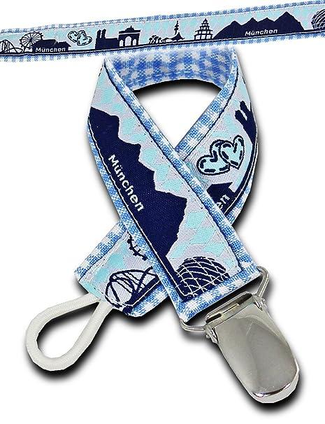 boubalou cinta para chupete München Boys, plástico, azul ...
