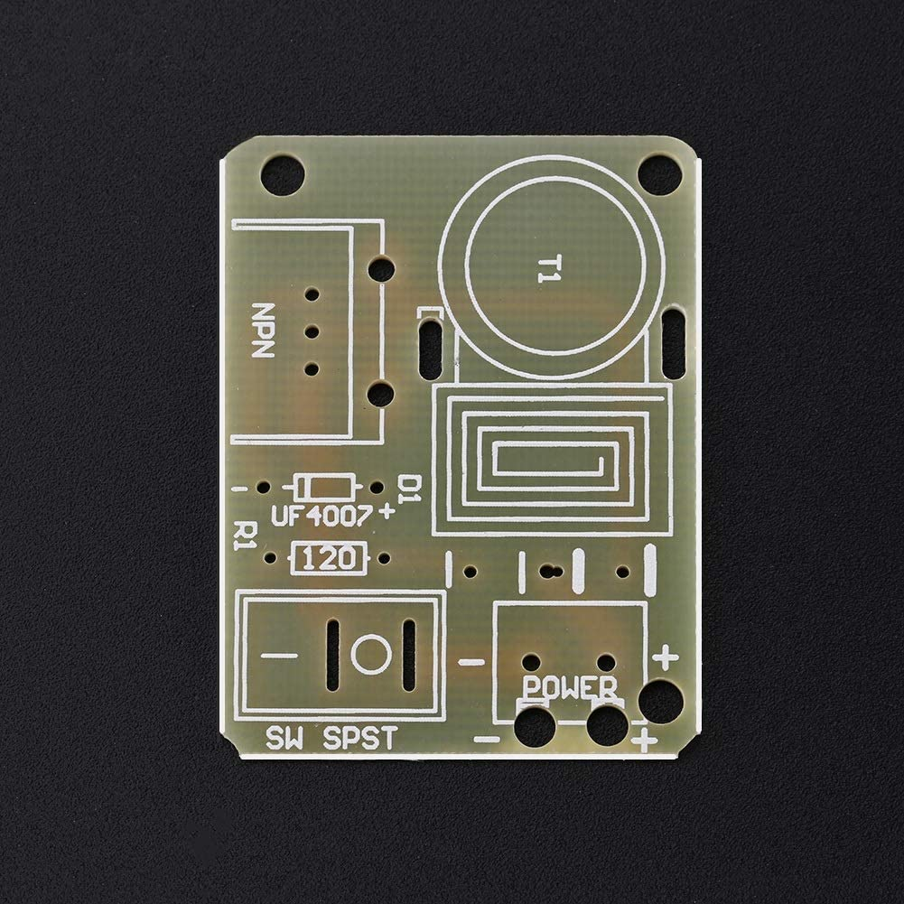 2 Sets Input DC 3.7V~4.2V Output AC 15KV Arc Ignition Generator Inverter High Voltage Pulse Generator DIY Kit High Voltage Generator BiuZi