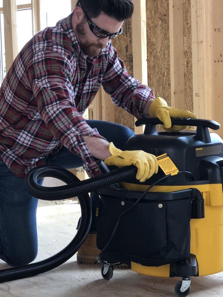 DEWALT DXV10P 10 Gallon Quiet Poly Wet Dry Vacuum Yellow by DEWALT (Image #5)