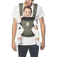 Ergobaby Omni 360 Canguro para bebé de malla transpirable y diseño ergonómico, carga a tu bebé en todas las posiciones, algodón premium, talla única
