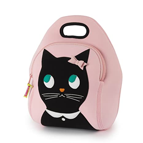 Buy Dabbawalla Bags (Kitchen) Miss Kitty Insulated Washable Lunch ... 297c2e18aa738